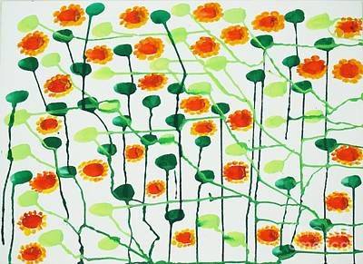 2013 The Sunflowers 01 Original by Danny S Y Lee
