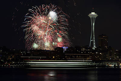 4th Of July 2013 Photograph - 2013 July 4th In Seattle by Yoshiki Nakamura