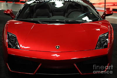 2013 Lamborghini Gallardo - 5d20178 Art Print by Wingsdomain Art and Photography