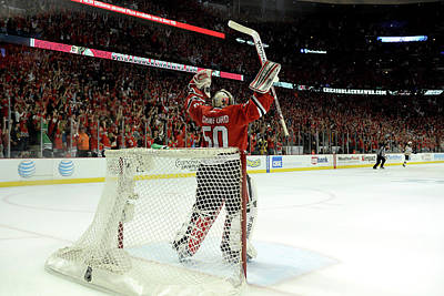 Photograph - 2013 Nhl Stanley Cup Final - Game Five by Harry How