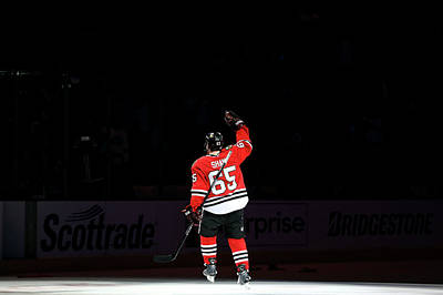 Photograph - 2013 Nhl Stanley Cup Final - Game One by Bruce Bennett