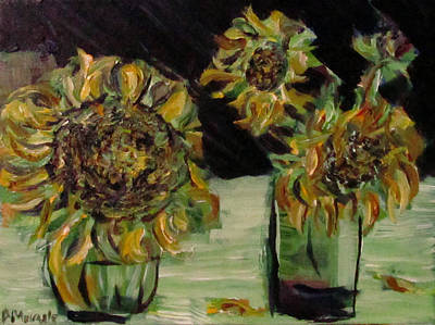Painting - 2013 Sunflowers 2 by Denny Morreale