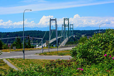 Photograph - 2013 Tacoma Narrows Bridge by Tikvah's Hope