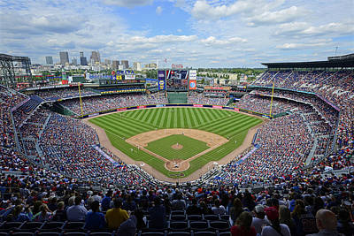 2013 Turner Field Art Print