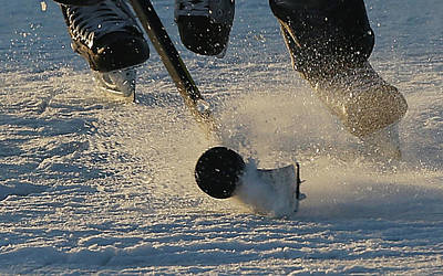 Eagle Photograph - 2013 Usa Hockey Pond Hockey National by Bruce Bennett