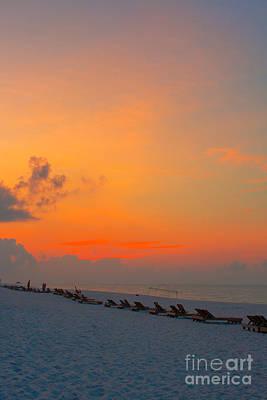 Photograph - Vibrant Dawn Pensacola Beach Florida by Ben Sellars