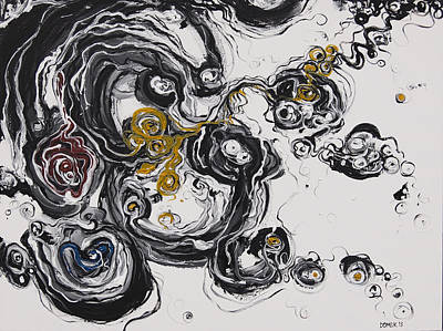 Painting - 2013_addiction by Ted Domek
