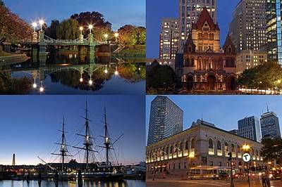 Photograph - 2014 Best Of Boston Landmark Photography by Juergen Roth