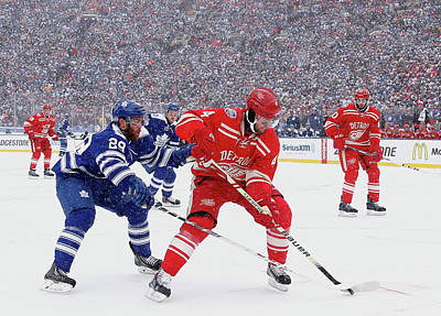 Nhl Photograph - 2014 Bridgestone Nhl Winter Classic - by Gregory Shamus