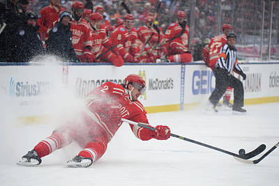 Nhl Photograph - 2014 Bridgestone Nhl Winter Classic - by Jamie Sabau