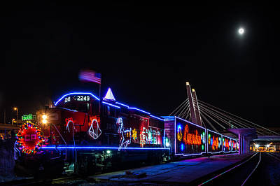 Photograph - 2014 Canadian Pacific Holiday Train by Randy Scherkenbach