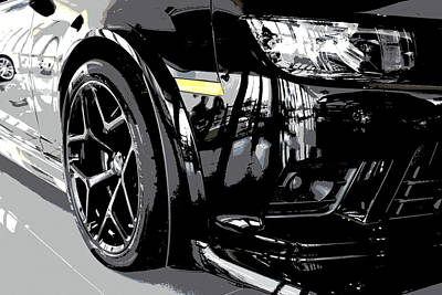 2014 Chevrolet Camaro Z28 Xl Art Print