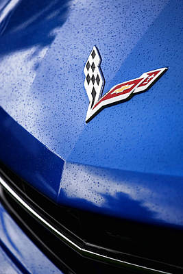 Indy Car Photograph - 2014 Chevrolet Corvette Stingray by Gordon Dean II