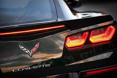 Photograph - 2014 Chevy Corvette Stingray  by Gordon Dean II