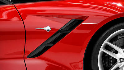 Photograph - 2014 Corvette Stingray by Gordon Dean II