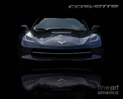 Photograph - 2014 Corvette Stingray by Ken Johnson