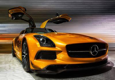 2014 Mercedes-benz Sls Amg Art Print by Jerome Obille