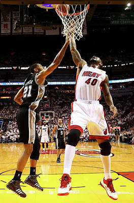 Photograph - 2014 Nba Finals - Game Four by Andy Lyons