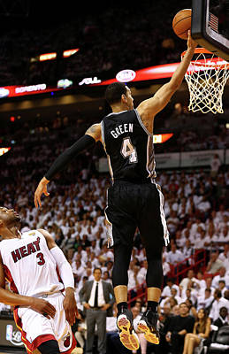 Photograph - 2014 Nba Finals - Game Three by Andy Lyons