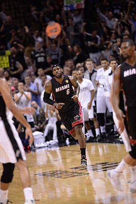 Photograph - 2014 Nba Finals Game Two by Noah Graham