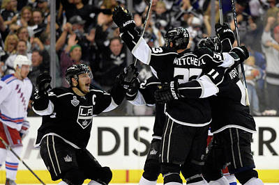 Los Angeles Kings Photograph - 2014 Nhl Stanley Cup Final - Game Two by Harry How