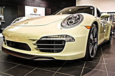 Photograph - 2014 Porsche 911 50th Front by E Karl Braun