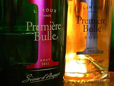 Limoux Photograph -  Premiere Bulle by France  Art