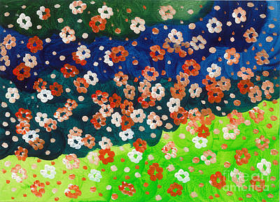2014 The Blossoming Flowers 05 Original
