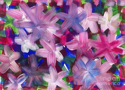 2014 The Firework Flowers 02 Art Print by Danny S Y Lee