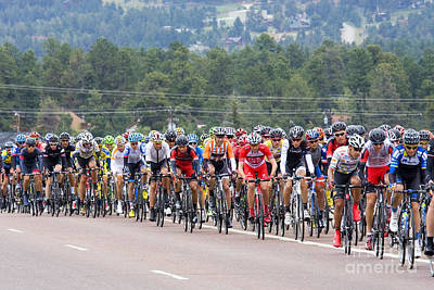 Steven Krull Royalty-Free and Rights-Managed Images - 2014 USA Pro Cycling Challenge by Steven Krull
