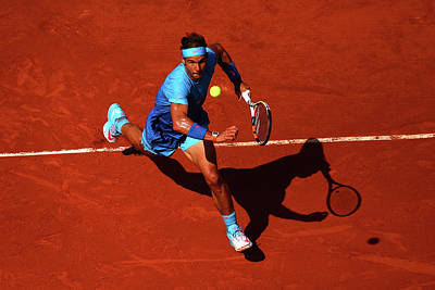 Photograph - 2015 French Open - Day Eleven by Dan Istitene