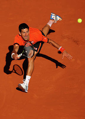 Photograph - 2015 French Open - Day Fifteen by Clive Brunskill