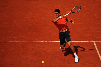 Photograph - 2015 French Open - Day Fifteen by Dan Istitene