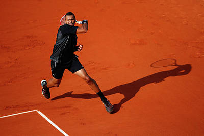 Photograph - 2015 French Open - Day One by Julian Finney