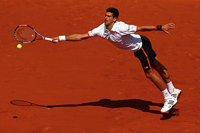 Photograph - 2015 French Open - Day Seven by Clive Mason