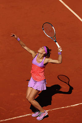 Photograph - 2015 French Open - Day Twelve by Clive Brunskill