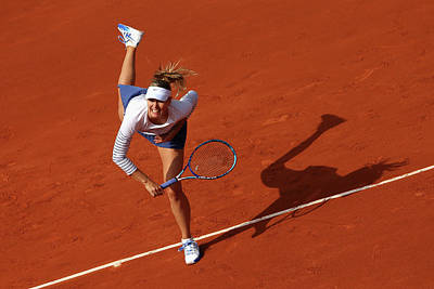 Photograph - 2015 French Open - Day Two by Clive Mason
