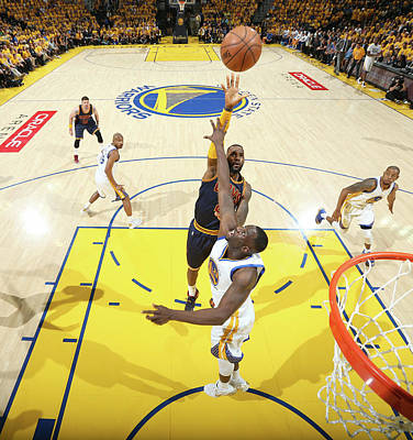 Photograph - 2015 Nba Finals - Game Five by Nathaniel S. Butler