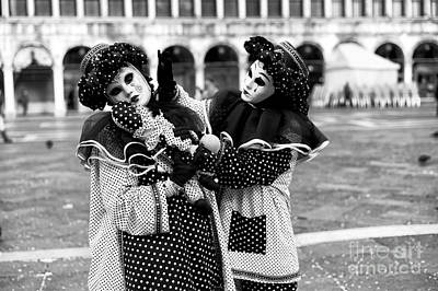 Photograph - 2015 Venice Carnival Scene Number One by John Rizzuto