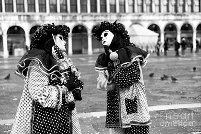 Photograph - 2015 Venice Carnival Scene Number Two by John Rizzuto