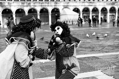Photograph - 2015 Venice Carnival Scene Number Three by John Rizzuto