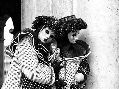 Photograph - 2015 Venice Carnival Scene Number Five by John Rizzuto