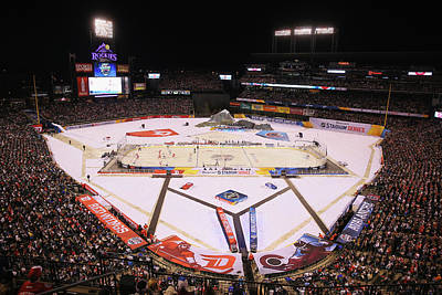 Nhl Photograph - 2016 Coors Light Stadium Series - by Justin Edmonds