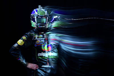 Photograph - 2016 Nascar Media Day - Creative by Jared C. Tilton