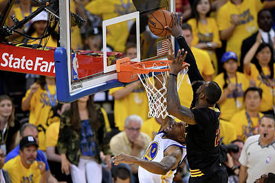 Playoffs Photograph - 2016 Nba Finals - Game Seven by Thearon W. Henderson