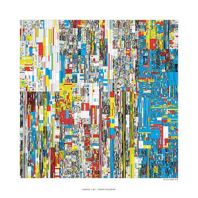 20244 Digits Of Pi Art Print by Martin Krzywinski