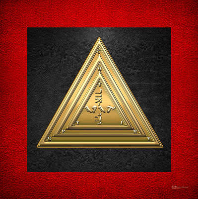 20th Degree Mason - Master Of The Symbolic Lodge Masonic Jewel  Original by Serge Averbukh