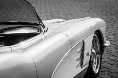 1960 Chevrolet Corvette Art Print by Jill Reger
