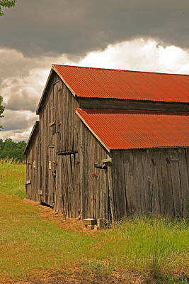Photograph - Barn by Ronald Olivier