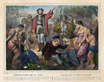 Christopher Columbus (1451-1506) Art Print